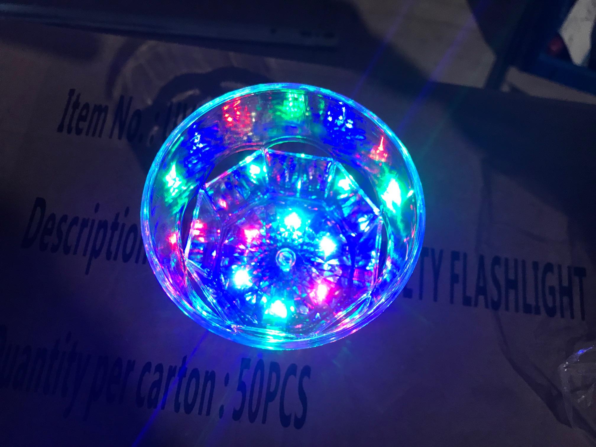 Kerstmuts Met Licht : Partij goedkope glazen met licht